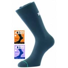 1000 Mile Liner Sock Black