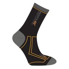 Regatta 2 Season Coolmax Socks Black/Gold