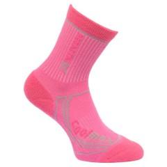 Regatta Kids Coolmax Walking Socks Raspberry