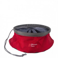 Mountain Paws Collapsible Food Bowl Large Red