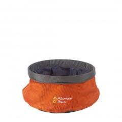 Mountain Paws Dog Water Bowl Small Orange