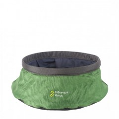 Mountain Paws Collapsible Water Bowl Large Green