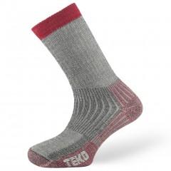 Teko Merino Mens Heavy Trek Sock Red