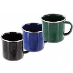 Highlander Enamel Mug 150ml Assorted Colours