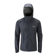 Rab Downpour Jacket Black