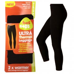 Hot Togs Ultra Thermal Legging - Black