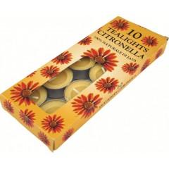 Highlander Citronella Tea Lights 10 Pack