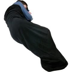 Trekmates Microfleece Sleeping Bag Liner Black