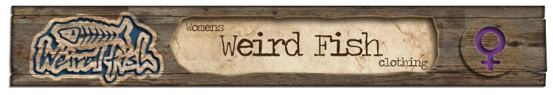 Womens Weird Fish Banner
