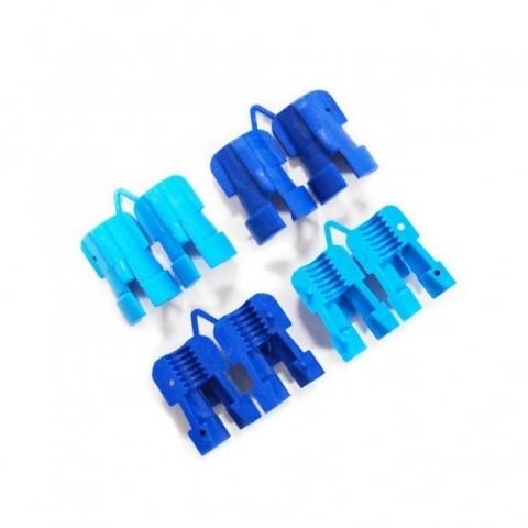 Fizan Trekking Pole Replacement Flexi Expanders Blue Set