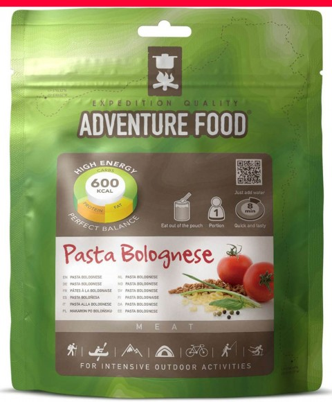 Adventure Food Dried Pasta Bolognese