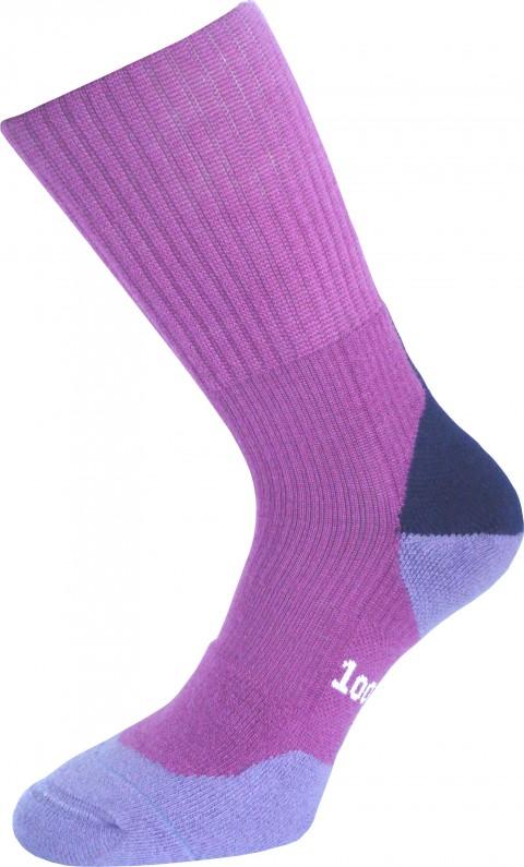 1000 Mile Ladies Fusion Sock Fuchsia