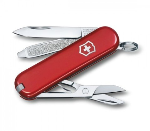 Victorinox Classic SD Swiss Army Knife Red