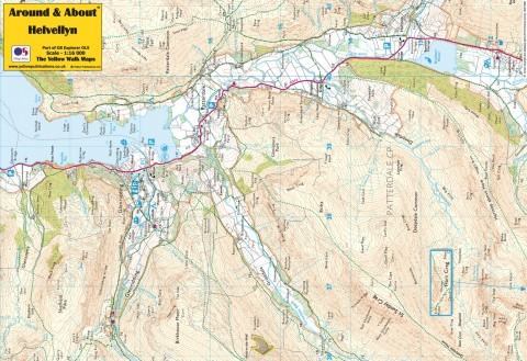 Around & About Map Helvellyn