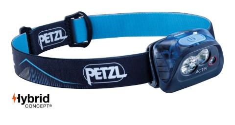 Petzl Actik 350 Lumens Headtorch Blue