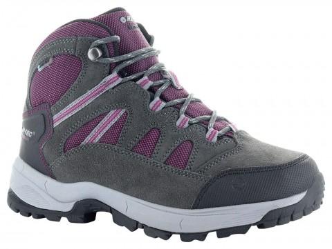 Hi-Tec Ladies Bandera Lite Boot Charcoal/Purple