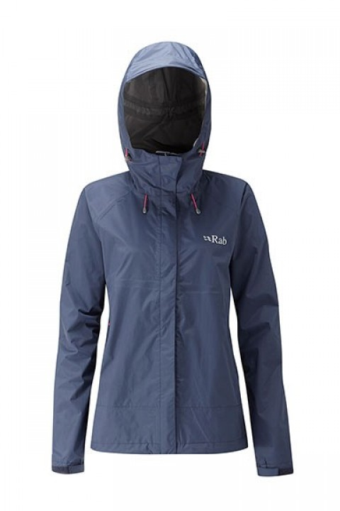 Rab Ladies Downpour Jacket Twilight