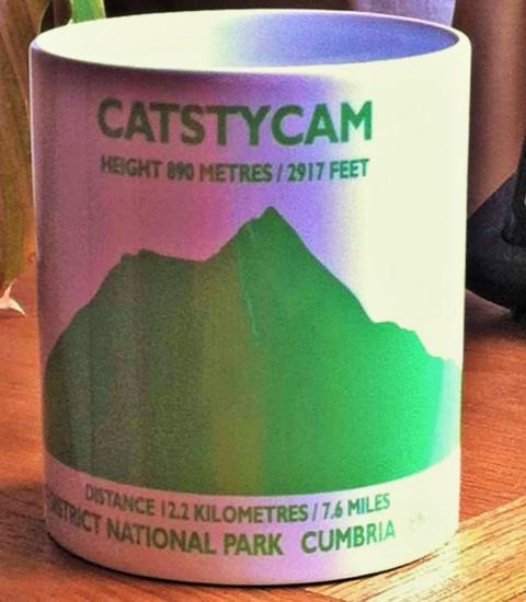 Peaks in Profile Catstycam Mug