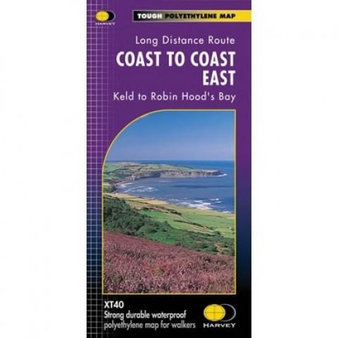 Harveys Coast to Coast Map East