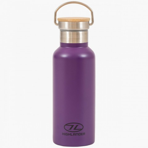 Highlander 500ml Campsite Bottle Purple