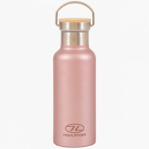 Highlander 500ml Campsite Bottle Pink