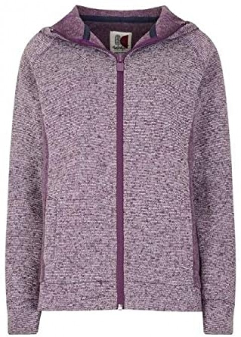 Weird Fish Ladies Dania Hoody Purple