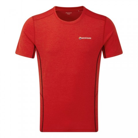 Montane Mens Dart T Shirt Alpine Red