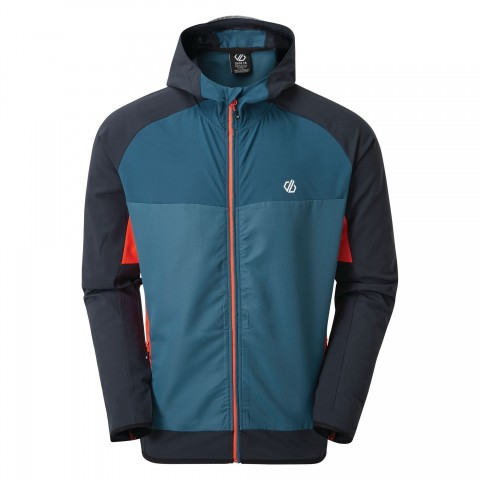 Dare2b Mens Aptile Soft Shell Jacket Majolica/Outerspace Blue
