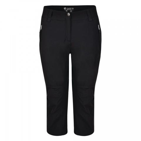 Dare2b Ladies Melodic 3/4 Shorts Black