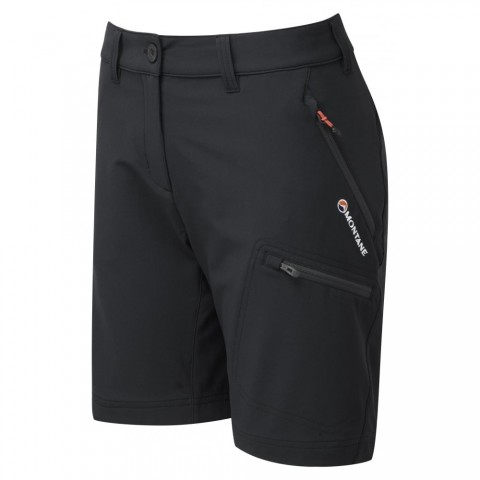 Montane Ladies Dyno Stretch Shorts Black