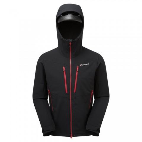 Montane Mens Dyno XT Soft Shell Jacket Black
