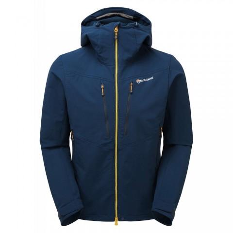 Montane Mens Dyno XT Soft Shell Jacket Narwhal Blue