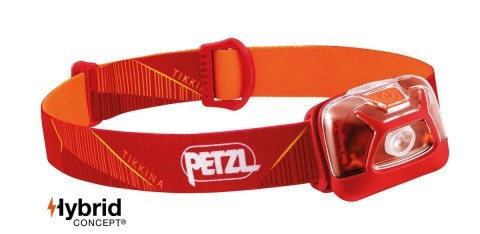 Petzl Tikkina 250 Lumens Headtorch Red