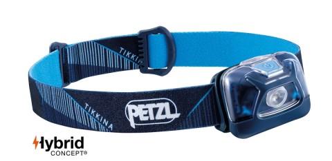 Petzl Tikkina 250 Lumens Headtorch Blue
