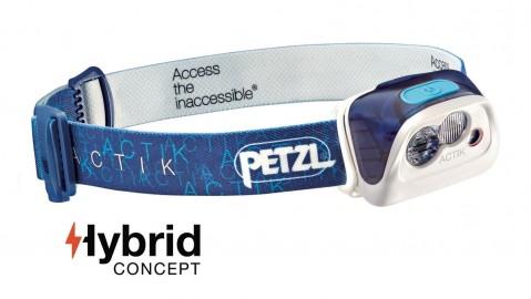 Petzl Actik Headtorch Blue