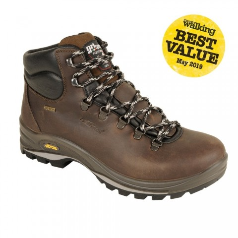 GriSport Fuse Walking Boot Brown
