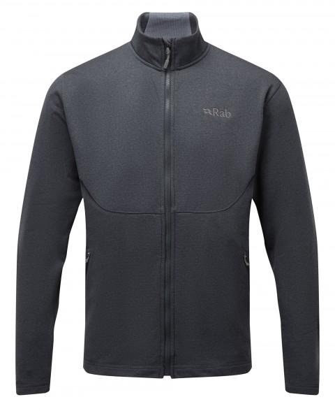 Rab Mens Geon Jacket Black/Steel Marl