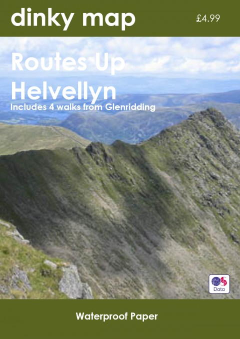Helvellyn Dinky Map