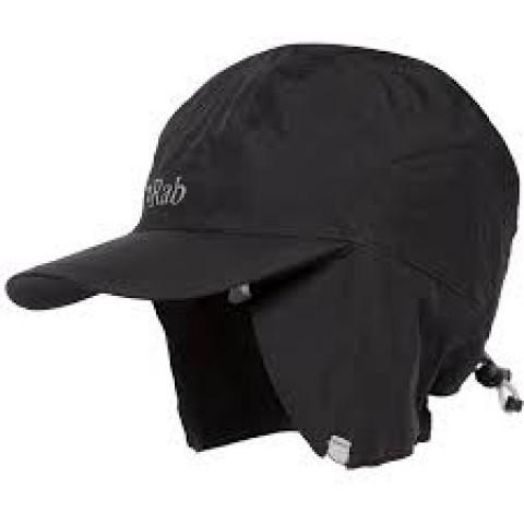 Rab Latok Waterproof Cap Black