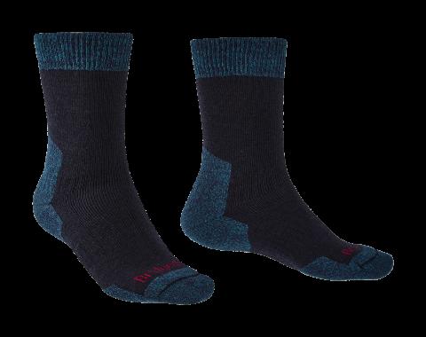 Bridgedale Mens Explorer Heavyweight Merino Comfort Boot Sock Navy