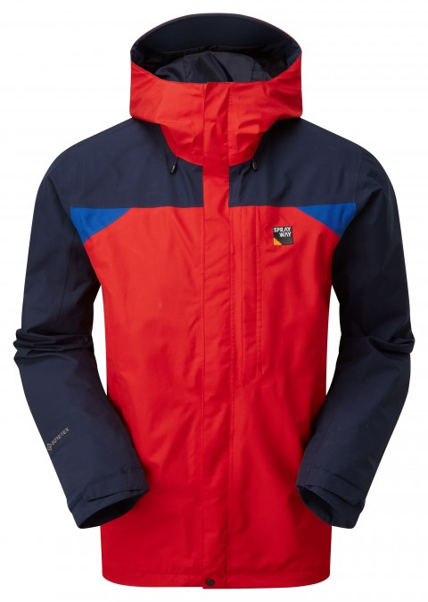 Sprayway Mens Reaction Long GTX Jacket Racing/Blazer/Yukon