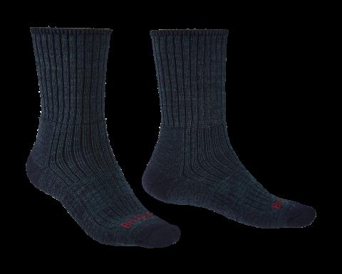 Bridgedale Mens Hike Midweight Merino Comfort Boot Sock Navy