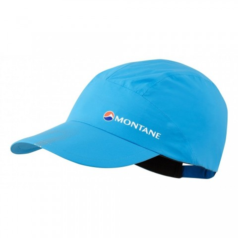 Montane Minimus Stretch Waterproof Cap Cerulean Blue