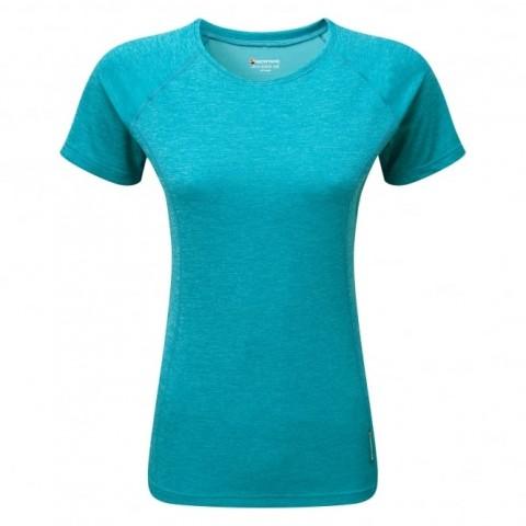 Montane Ladies Dart T-Shirt Blue Ridge