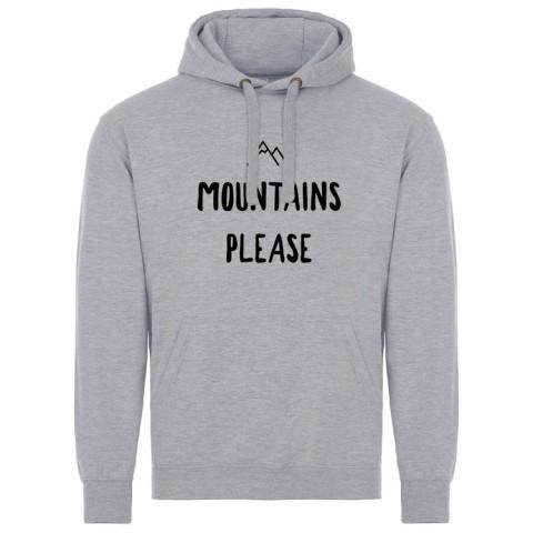 Ascendancy Apparel Mountains Please Hoody Light Grey