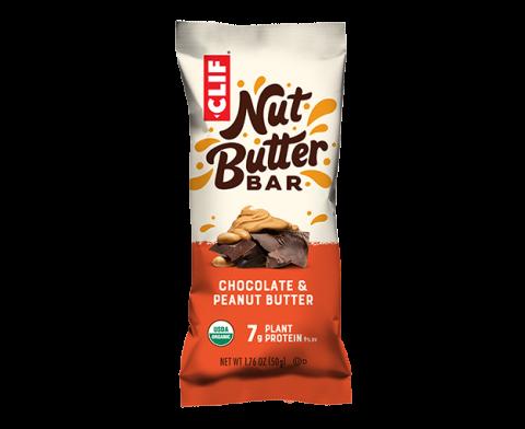 Clif Nut Butter Energy Bar- Chocolate & Peanut Butter