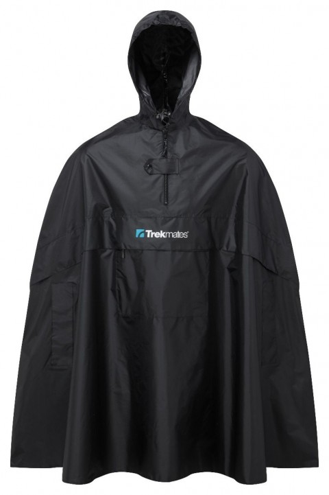 Trekmates Childs Poncho Black