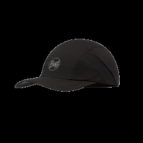 Buff Pro Run Cap R Solid Black