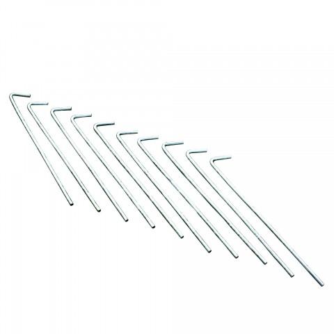 "Regatta 8"" Roundwire Steel Pegs 10 Pack"