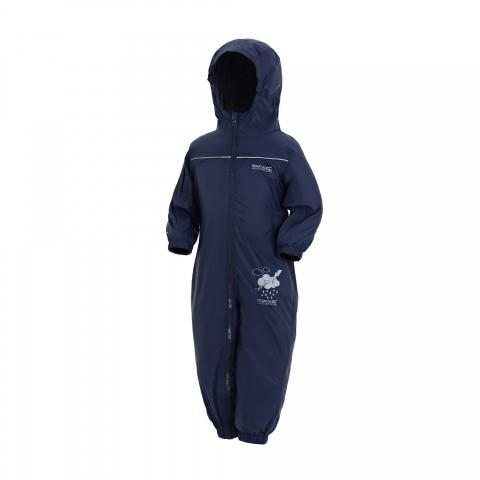 Regatta Infants Waterproof Puddle Suit Navy